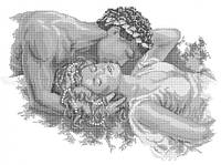 Схема для вышивки бисером Афродита А2