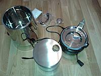 Дистиллятор, генератор дистиллированной воды (металлический корпус)