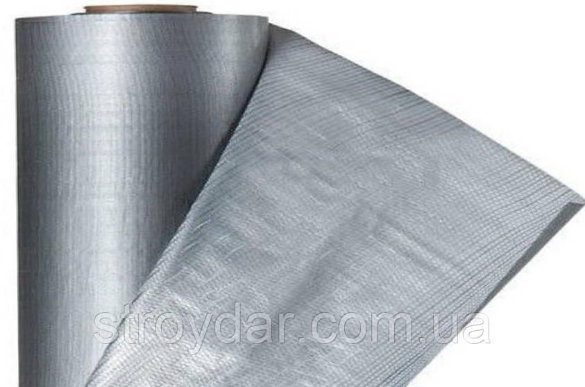 Кровельная пленка Гидробарьер Silver (серебристый) 75 м2