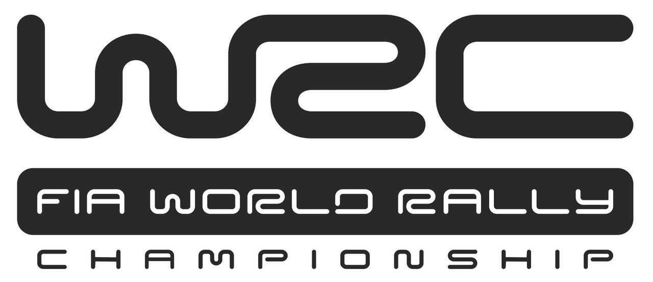Наклейки на автомобиль: WSC fia world rally - черная