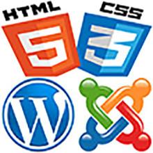 Базовый курс web-дизайна и FrontEnd-разработки сайтов (HTML, CSS, WordPress, Joomla)