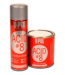 Грунт протравливающий ACID#8  U-POL Банка 1л