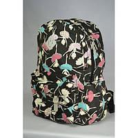 Школьный рюкзак для подростка с цветочным принтом