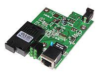 Плата TK-link для медиаконвертера 10/100mb с модулем 1550 нм.