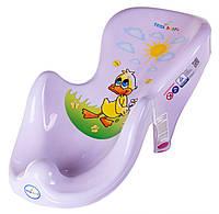 Горка для купания ребёнка«Balbinka» Tega Baby, светло-сиреневая