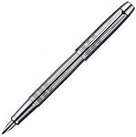 Перьевая ручка Parker IM Premium Shiny Chrome Chiselled FP металлическая с хромированной отделкой 20 412C