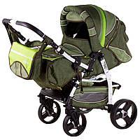 Детская коляска трансформер«Galaxy Drifting»621029, зеленый