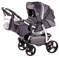 Детская коляска трансформер«Galaxy Drifting»621025, серый