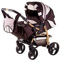 Детская коляска трансформер«Galaxy Drifting»621033, шоколад