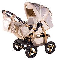 Детская коляска трансформер «Young» Adamex 621060, бежевый