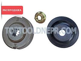 Комплект шайб редуктора + прижимная гайка для бензотриммера Ryobi RBC 254 FC