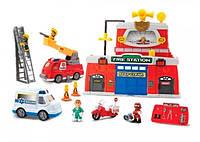 Игровой набор пожарного и спасателя