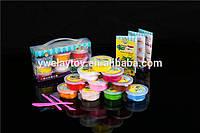 ClayDoll подарочный Набор масса для лепки, 12 цветов