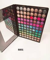 Тени для век профессиональная палитра на 88 цветов в глянцевом кейсе Mac p-088 № 1