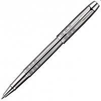 Ручка роллер Parker IM Premium Shiny Chrome Chiselled RB металлическая полир. с хромированной отделкой 20 422С
