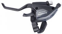 Тормозная ручка / Шифтер Shimano Altus ST-EF51 левая 3 скорости черный