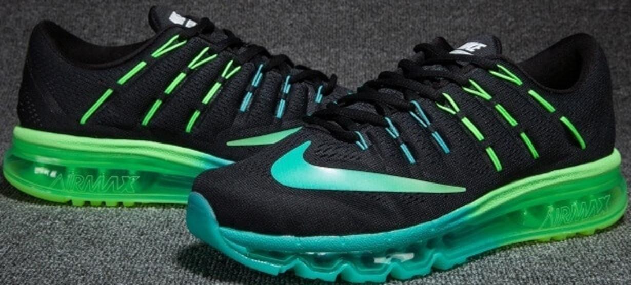f1cd1a5d2 Мужские кроссовки Nike Air Max 2016 Black /Blue/Green от магазина  tehnolyuks.prom
