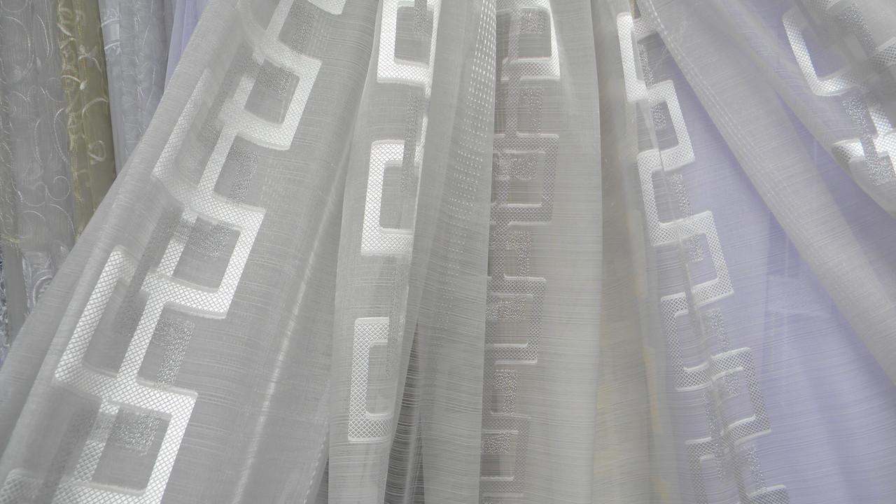 Тюли вуаль Илекс (kod 2702) - Textile plus в Хмельницком