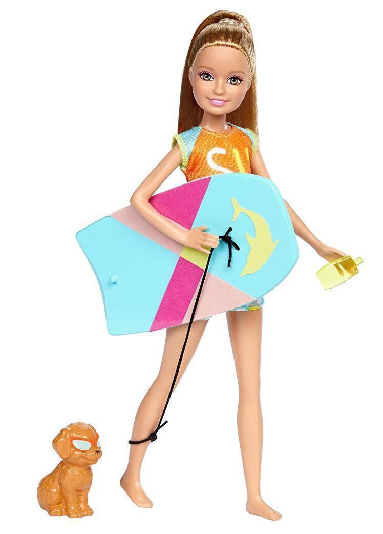 Кукла Барби Стейси с питомцем Магия Дельфинов - Barbie Stacie Dolphin Magic FBD69