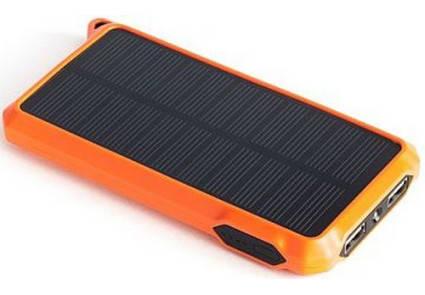 Универсальная cолнечная мобильная батарея PowerPlant/PB-SS002/10000mAh/, фото 2