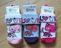 Теплые детские носки c тормозками Bross (размеры 13-15, 16-18,19-21)