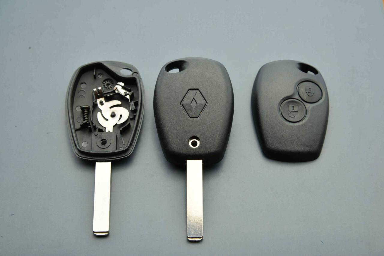 Ключ Рено Трафик Renault Logan Opel Опель Виваро 2 кнопки ЛЕЗВИЕ VA2