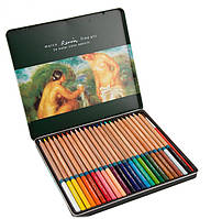 Набор цветных карандашей 24цв. , метал, FineArt, Marco