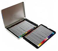 Набор цветных карандашей Marco Raffine 50 цветов металлический пенал