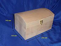 Сундук деревянный с замочком 7.105, фото 1