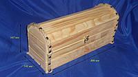 Сундук деревянный для вина Сосна 10.014, фото 1
