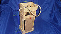 Короб деревянный для вина Сосна 10.007, фото 1