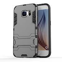 Чехол накладка силиконовый Armor Shield для Samsung Galaxy S7 G930 серый