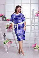 Женское платье (48-50, 52-54) —трикотаж купить оптом и в Розницу в одессе  7км
