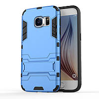 Чехол накладка силиконовый Armor Shield для Samsung Galaxy S7 G930 голубой
