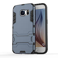Чехол накладка силиконовый Armor Shield для Samsung Galaxy S7 G930 синий