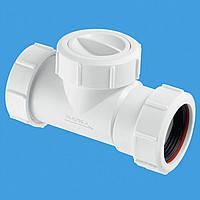 Обратный клапан для канализации McAlpine S28-NRV-32 32х32 мм