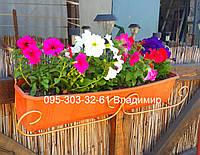 Держатель для балконного ящика, подставка для цветов, фото 1