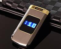 Раскладной телефон в металлическом корпусе Tkexun M3 2 Sim