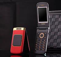 Раскладной телефон в металлическом корпусе Tkexun M3 2 Sim на