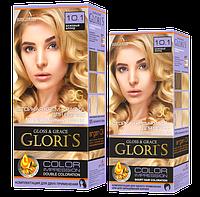 Краска для волос Gloris 10.1 БЕЖЕВЫЙ БЛОНД ( 2 применения)