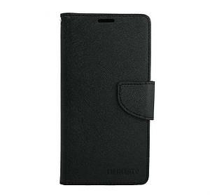 Чехол книжка для Huawei GR5 2017 боковой с отсеком для визиток, MERCURY GOOSPERY, черный
