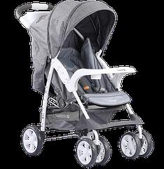 Коляска прогулочная Quatro Imola 14 light grey