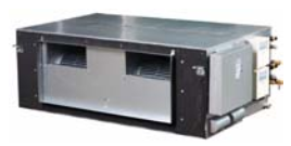 Внутренний блок канального типа Midea MDV-D140T1/N1-FA (185 Па)