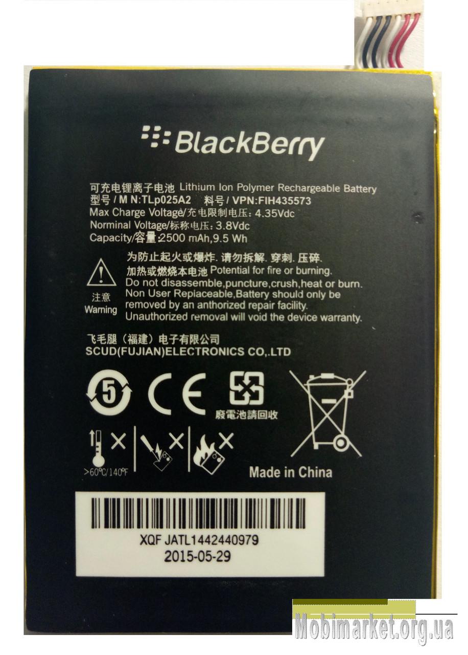Original Акумулятор TLЗ025A2 для BlackBerry Z3 2500mAh