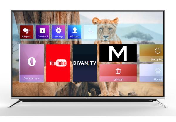 Телевизор Skyworth 43G6 Smart TV