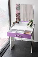 Компактная мебель для спальни, небольшой будуарный столик с зеркалом BS-102, производитель UGO-mebel, фото 1