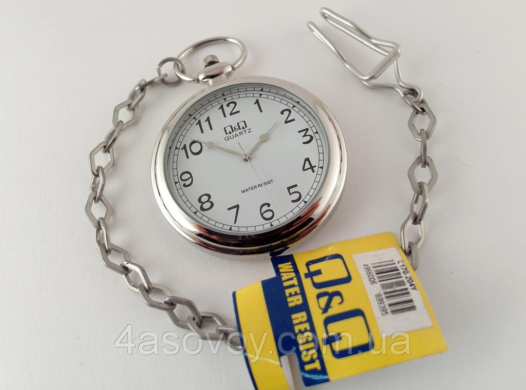 Часы карманные Q@Q  стильные на металлической цепочке - 4asovoy в Киеве