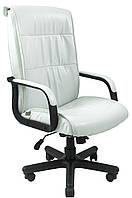 Кресло Рио Пластик, подлокотники с накладками мех., Пиастра, белый