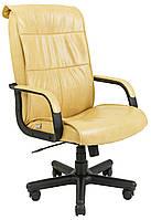 Кресло Рио Пластик, подлокотники с накладками Пиастра, желтый