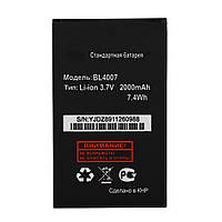 АКБ Оригинальный аккумулятор, батарея Fly BL4007 (DS123)